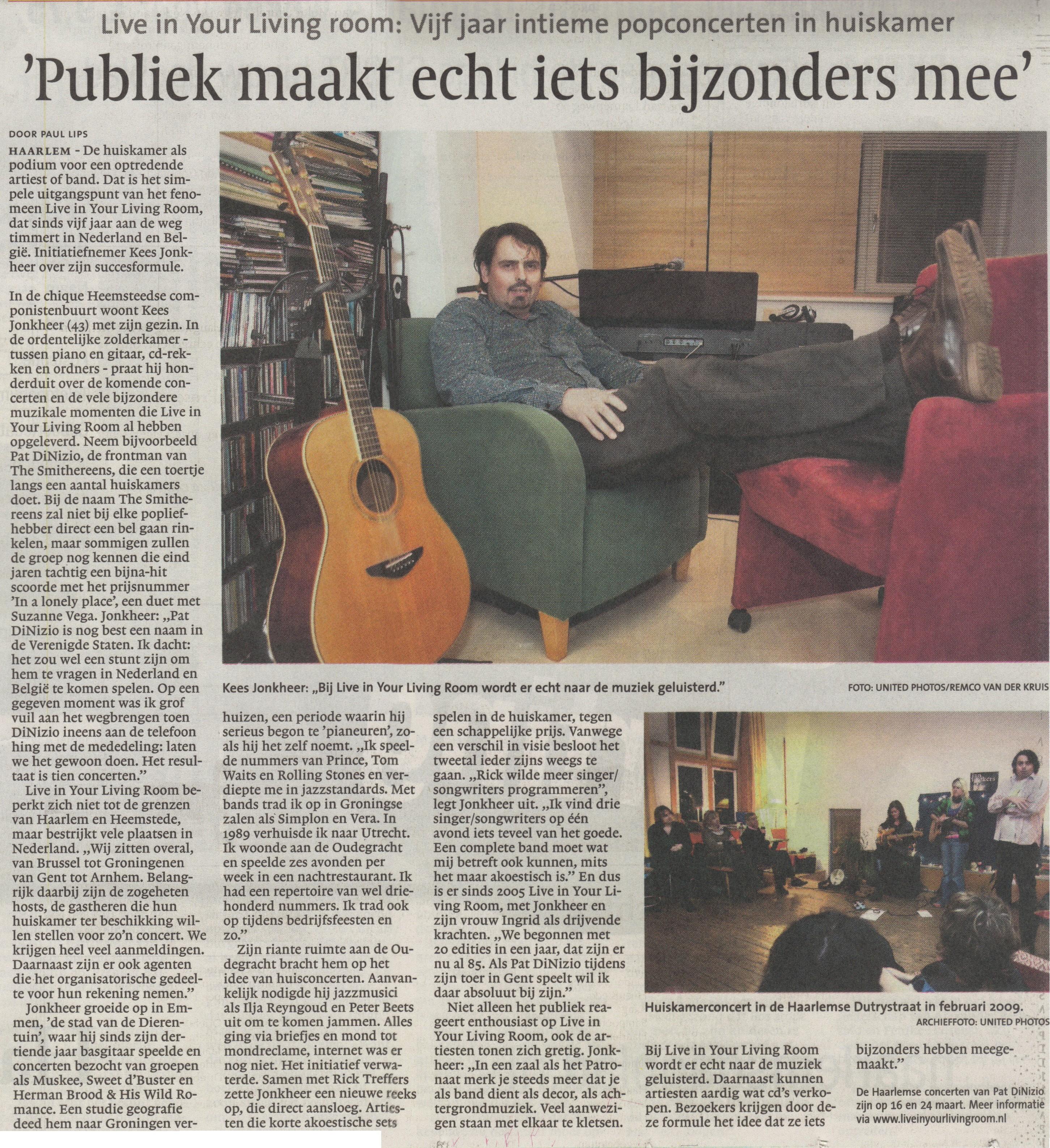artikel Haarlem Dagblad